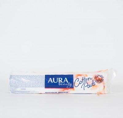 Ватные диски 100шт Aura_0