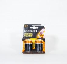 Батарейки DURACELL R20 2 шт
