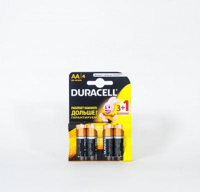 Батарейки DURACELL пальчиковые 4 шт_0