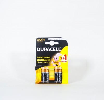 Батарейки DURACELL мизинчиковые 4 шт_0