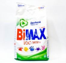 Стиральный порошок BI MAX Двойной эффект 3 кг
