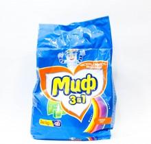 Стиральный порошок МИФ 3 в 1 Свежий цвет 2кг