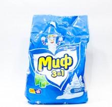 Стиральный порошок МИФ 3 в 1 Морозная свежесть 2кг