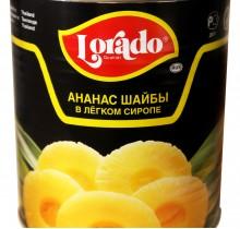 Ананасы шайба Лорадо 3100мл
