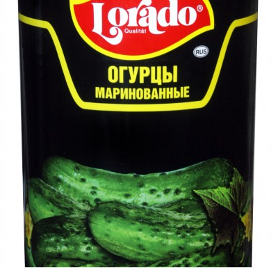 Огурцы маринованные (6-9см) Лорадо 4250мл_0