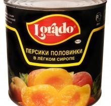 Персики половинки Лорадо 3100мл