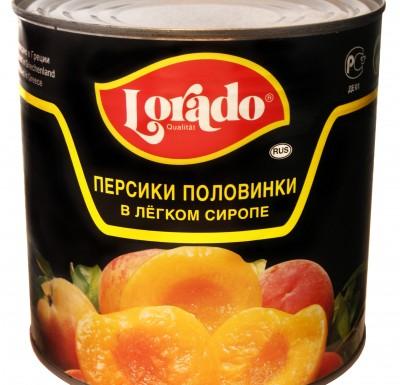 Персики половинки Лорадо 3100мл_0
