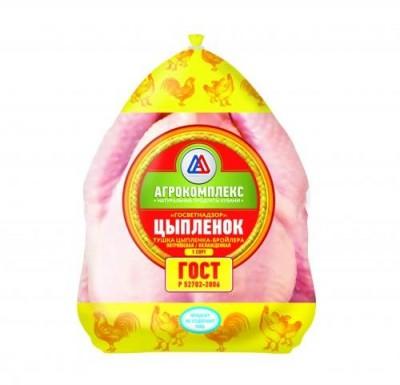 Цыпленок бр. потрошеный 1 кг (Агрокомплекс, BAISAD, Благояр)_0