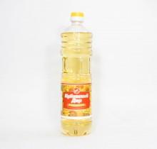 """Масло подсолнечное, рафинированное, дезодорированное, 0,9 л  """"Кубанский дар"""""""
