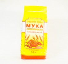 """Мука пшеничная 2кг """"Солнечный край"""""""