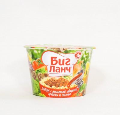 Биг Ланч с ароматной говядиной, грибами и зеленью_0