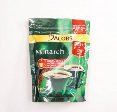 Кофе Якобс Монарх 240г _0