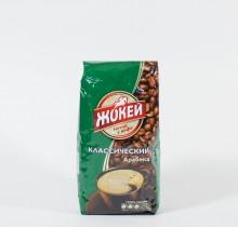 Кофе Жокей жареный в зернах 250г м/у
