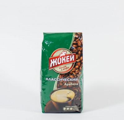 Кофе Жокей жареный в зернах 250г м/у_0