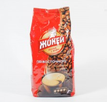 Кофе Жокей по-восточному жареный в зернах 500г м/у