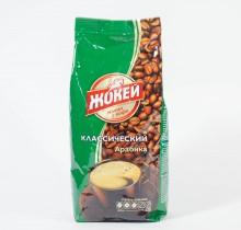 Кофе Жокей жареный в зернах 500г м/у