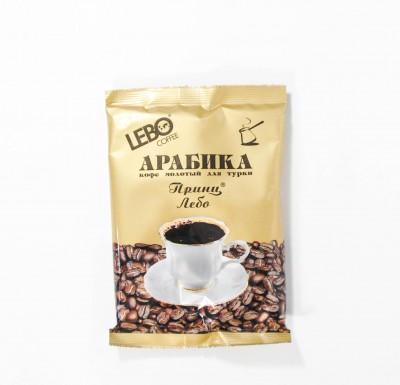 Кофе Лебо молотый Принц Лебо 100г м/у_0