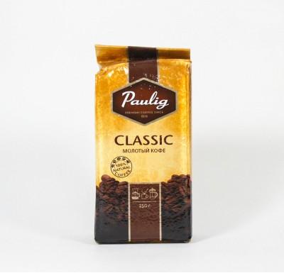 Кофе Паулиг молотый 250г в/у_0