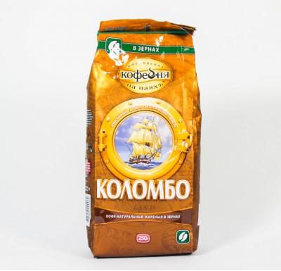 Кофе Кофейня на паяхЪ  Коломбо в зернах 250г м/у_0