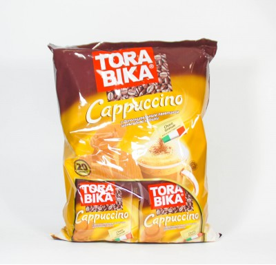 Капучино ТОРАБИКА с шоколадной крошкой 20 пакетиков_0