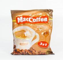 Кофе Маккофе  со вкусом карамели 25 пакетиков