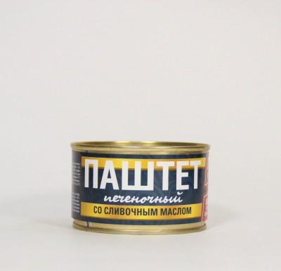 Паштет со сливочным маслом 230 г (Рузком)_0