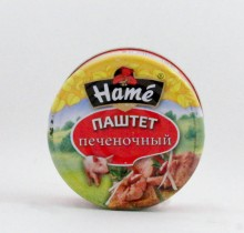 "Паштет печеночный, 250 г, ""HAME"""