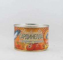 Сардинелла в томатном соусе с овощами, 240 гр, КТК  (г. Калининград)