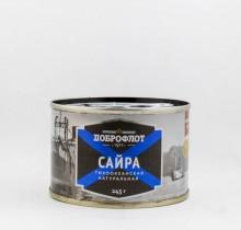 Сайра натуральная в собственном соку, 240 гр, Доброфлот
