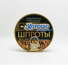 Шпроты 160г  (Калининград)