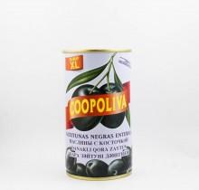 Маслины Коополива, 370 мл, с косточкой, Испания