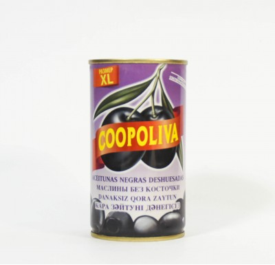 Маслины Коополива, 370 мл, без косточки, Испания_0