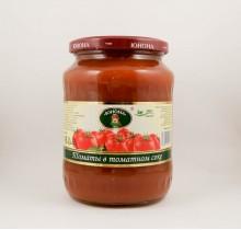 """Томаты в томатном соке, 700г, """"Юнона"""""""