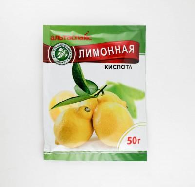 Лимонная кислота 50г_0