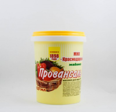 Майонез Провансаль, 450 мл (МЖК Краснодарский)_0