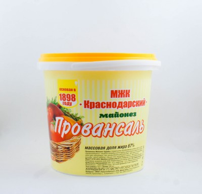 Майонез Провансаль, 850 мл (МЖК Краснодарский)_0