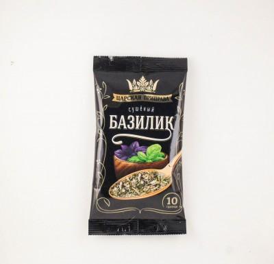 """Базилик (зелень сушеная) 10г """"Царская приправа""""_0"""