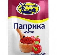 """Паприка молотая 50г """"Бабушкин Хуторок"""""""