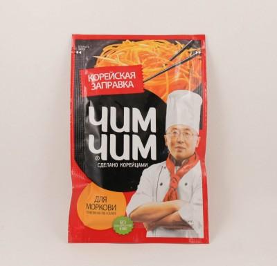 """Заправка для моркови по-корейски, жидкая 60г """"Чим Чим""""_0"""