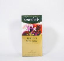 Чай Гринфилд Спринг Мелоди черный  25 пакетиков