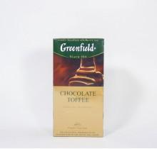 Чай Гринфилд Шоколад Тоффи черный  25 пакетиков
