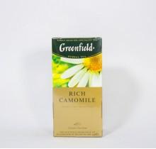 Чай Гринфилд  Рич Камомайл 25 пакетиков