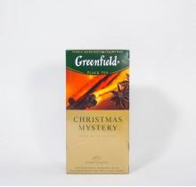 Чай Гринфилд Кристмас Мистер черный  25 пакетиков