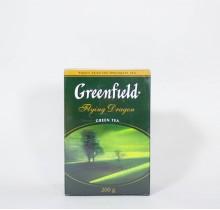 Чай Гринфилд зеленый Флаинг Драгон 100г