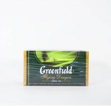 Чай Гринфилд зеленый Флаинг Драгон 25 пакетиков