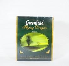 Чай Гринфилд зеленый Флаинг Драгон 100 пакетиков