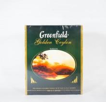 Чай Гринфилд Эрл Грей черный 100 пакетиков
