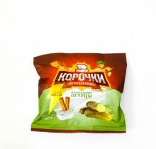 """Сухарики """"3 Корочки - Малосольные огурцы"""" 60г"""