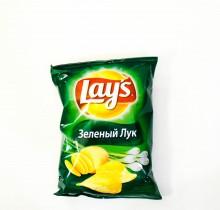 Чипсы ЛЕЙС Зеленый Лук 80г