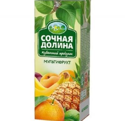 Сок СОЧНАЯ ДОЛИНА в ассортименте 2л_0